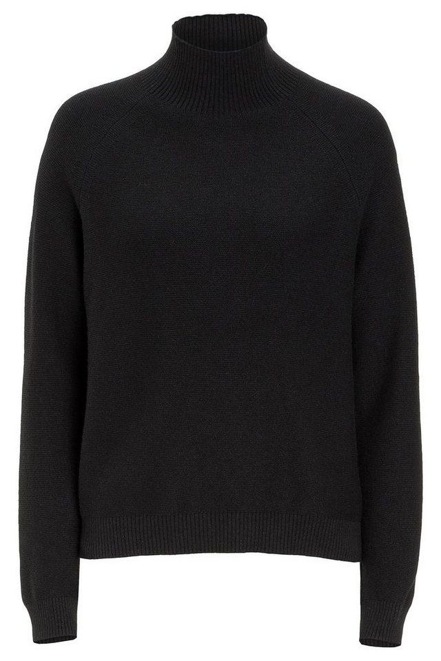 MORE&MORE Pullover, Turtleneck in schwarz