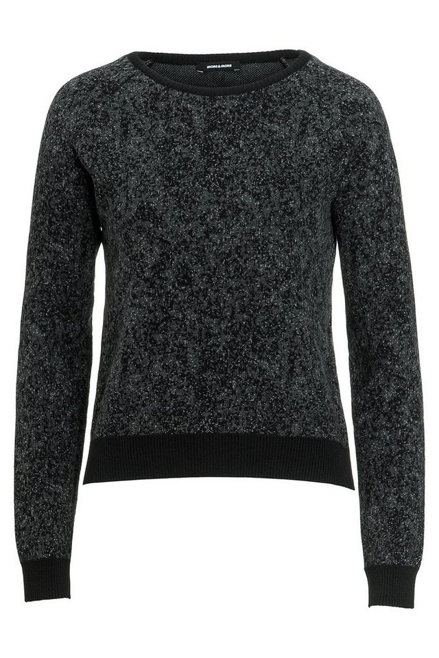 MORE&MORE Pullover, Jacquard in wie Farbmuster