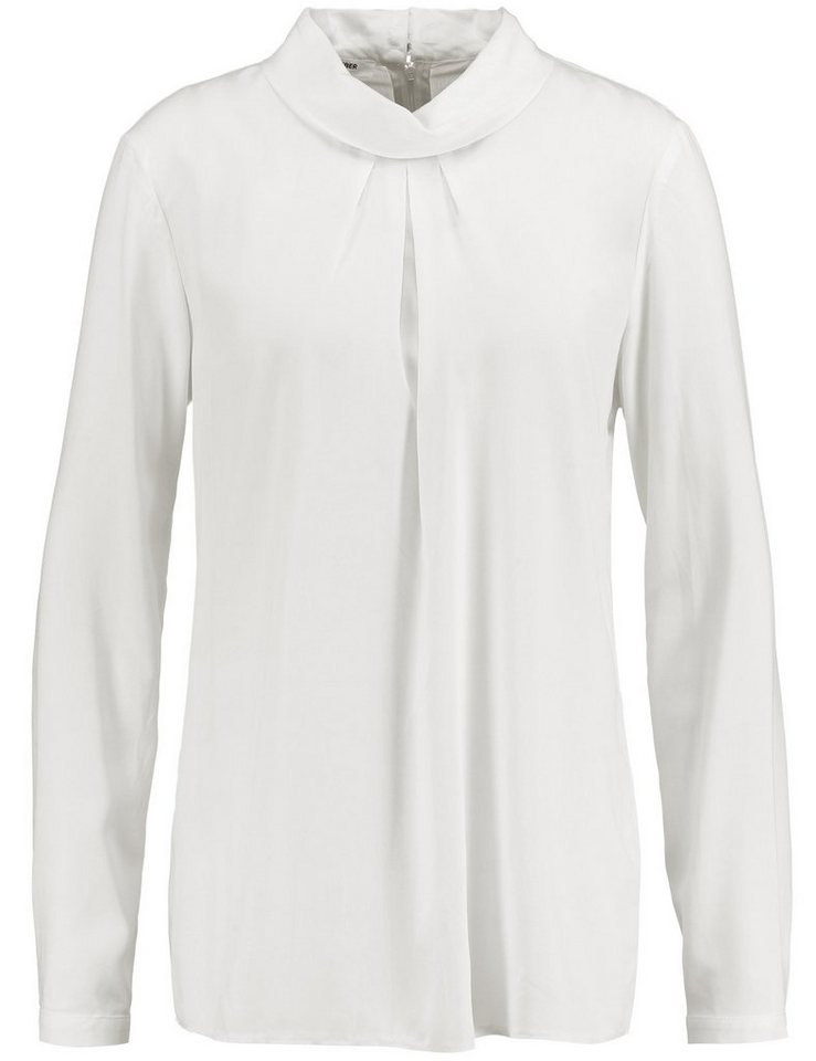Gerry Weber Bluse Tunika »Bluse mit Stehkragen« in Off-White