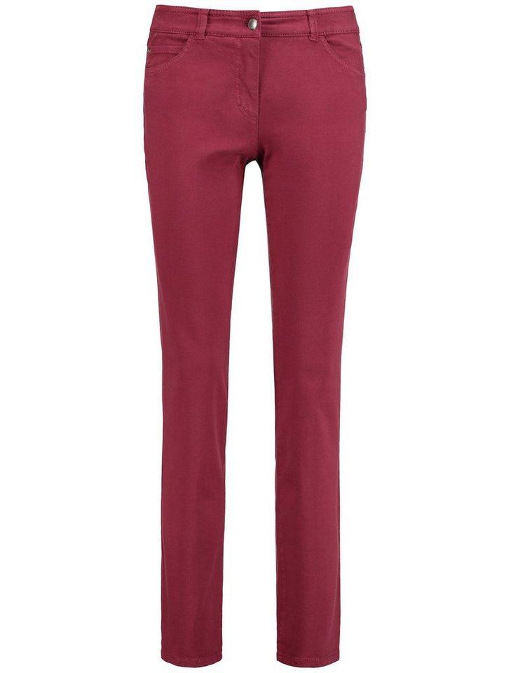 Gerry Weber Hose Jeans lang »5-Pocket Hose« in Marsala