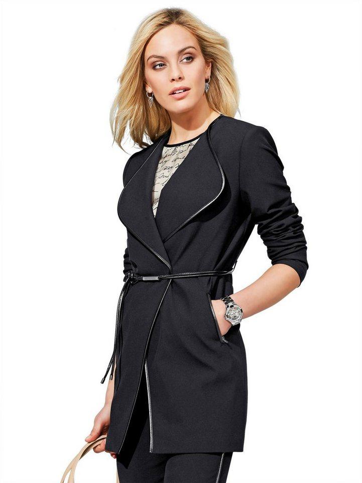 Alba Moda Blazer in schwarz