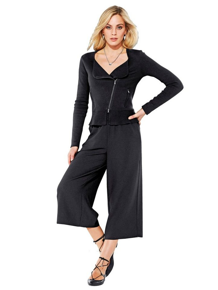 Alba Moda Culotte in schwarz