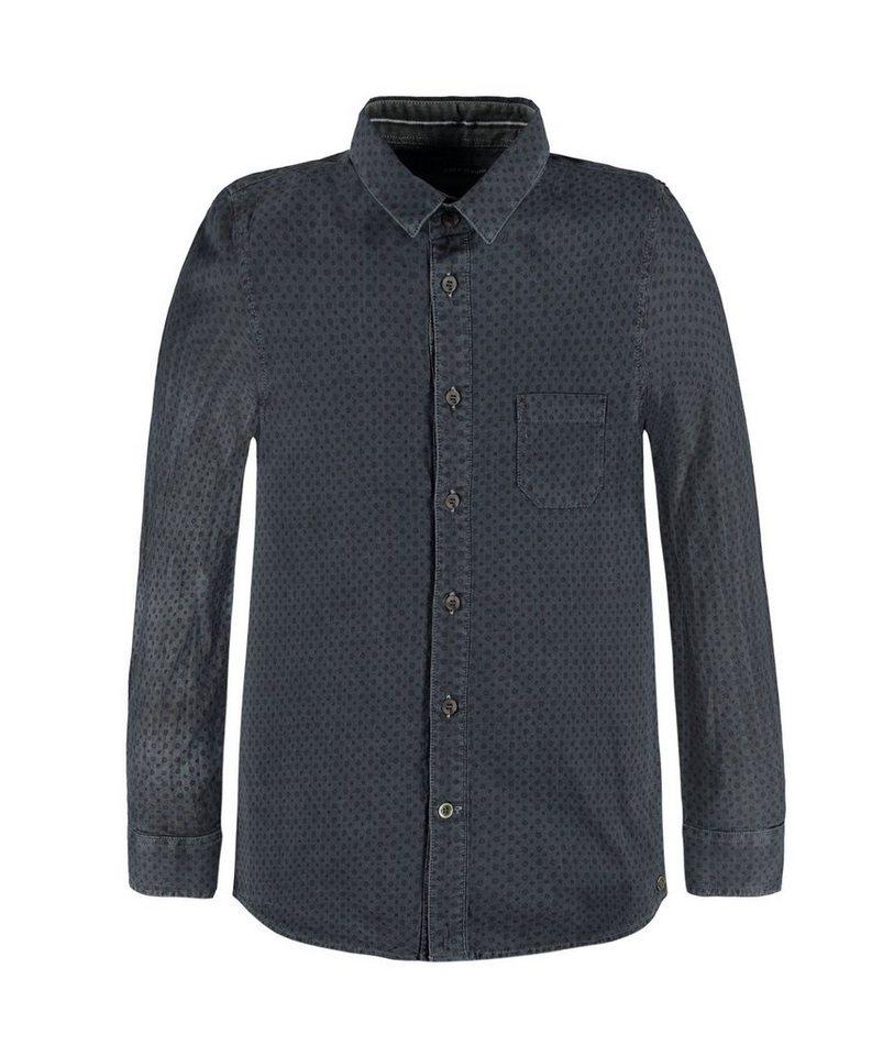 Marc O'Polo Junior Hemd langärmlig 1 in gemustert