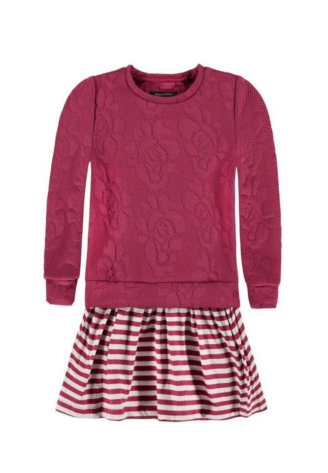 Marc O'Polo Junior Kleid langärmlig 1 in Rot
