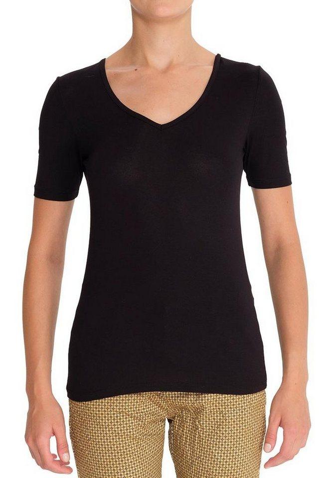 Vestino Shirt in schwarz