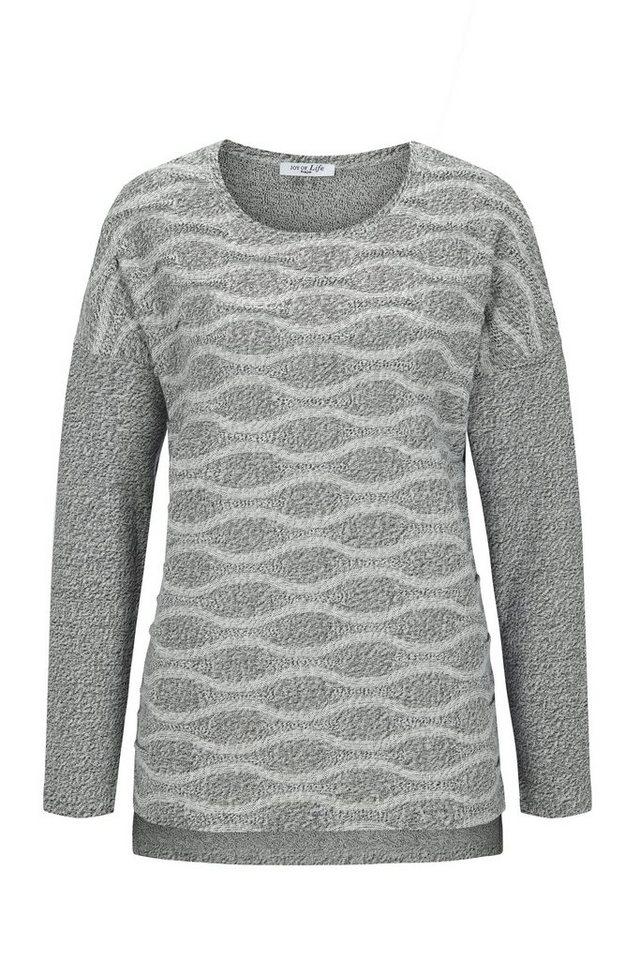 Hajo Sweat / Shirt in silber-mouline