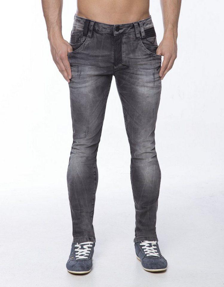 Cipo & Baxx Jeans in GRAU