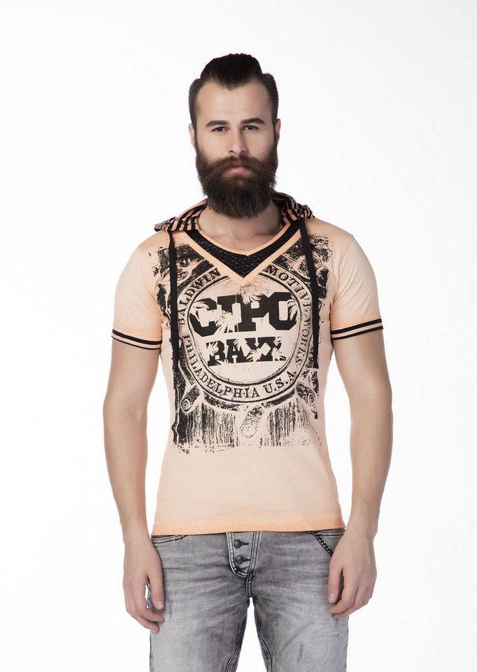 Cipo & Baxx T-Shirt in orange