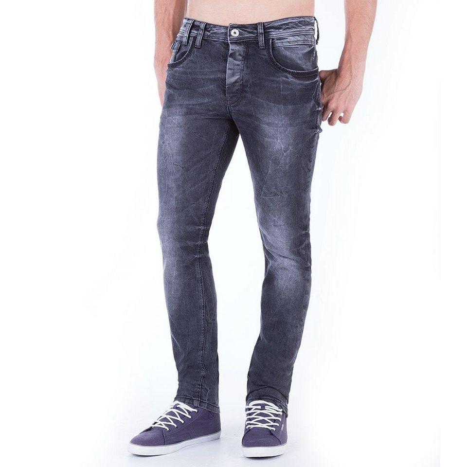 Cipo & Baxx Jeans in DUNKELGRAU