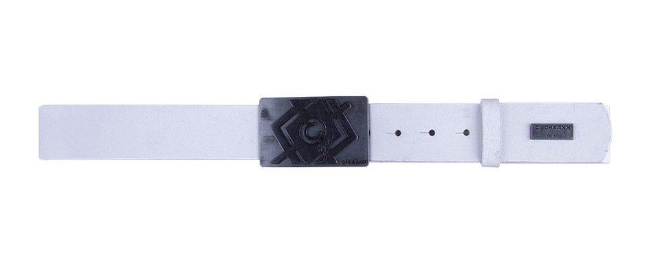 Cipo & Baxx Gürtel in Weiß