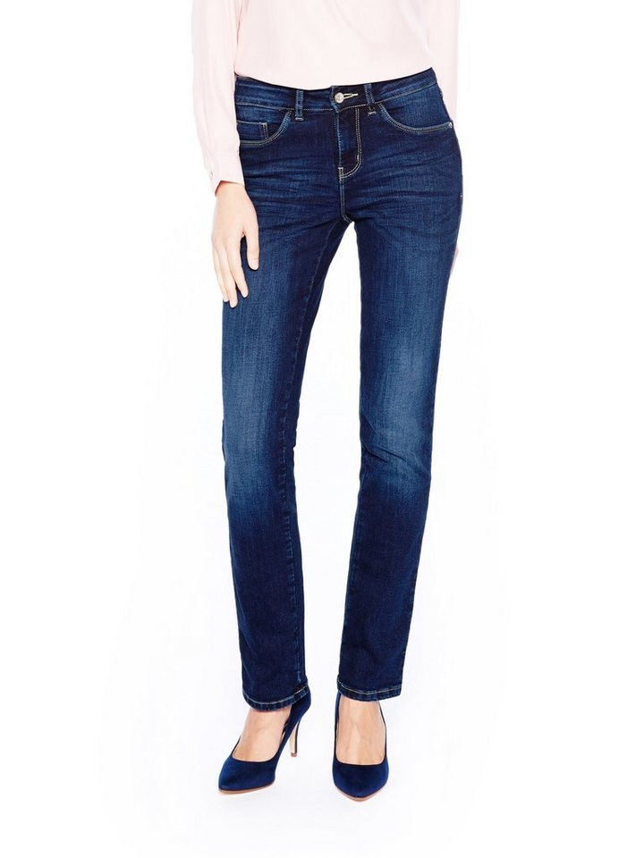COLORADO DENIM Jeans »C959 LAYLA Damen Jeans« in dark blue used