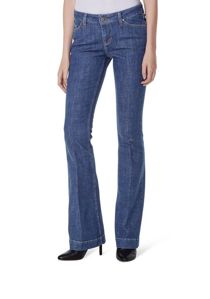 MUSTANG Jeans »Jasmin Flared« in rinse