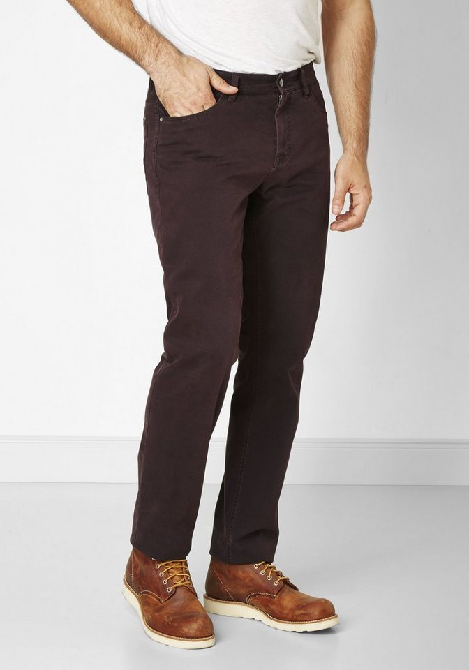 Redpoint Stretch 5-Pocket »Ontario« in plum