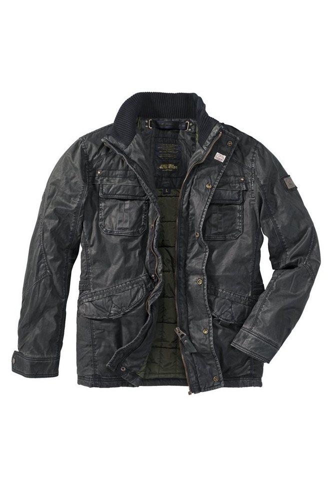 NAGANO Betweenjacket »YURI« in black