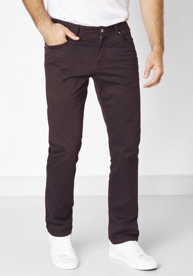 Redpoint Stretch 5-Pocket »Barrie« in plum