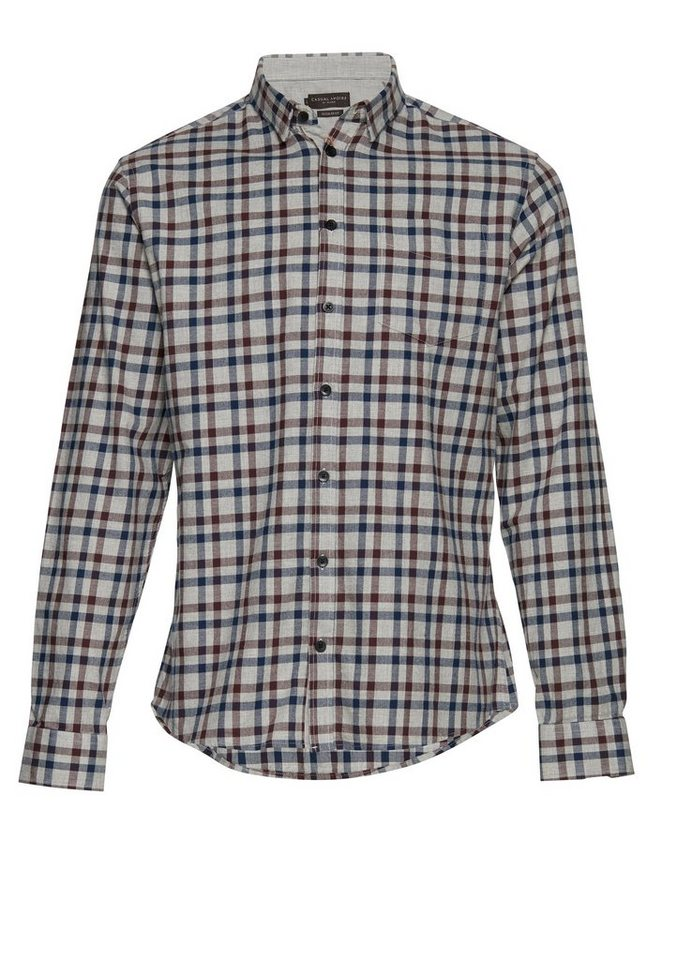 Casual Friday Hemden in Grau
