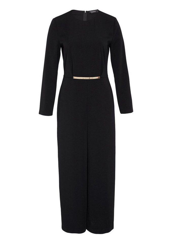 HALLHUBER Culotte-Jumpsuit mit Zierelement in schwarz