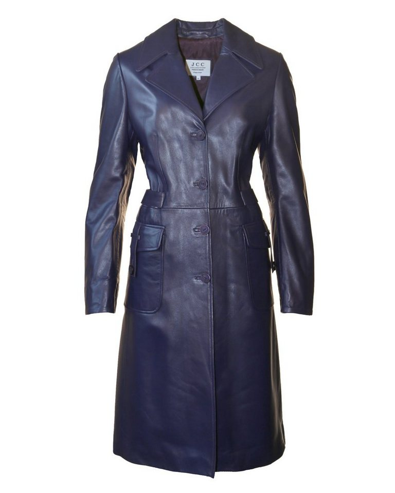 JCC Ledermantel, Damen Navia in blue