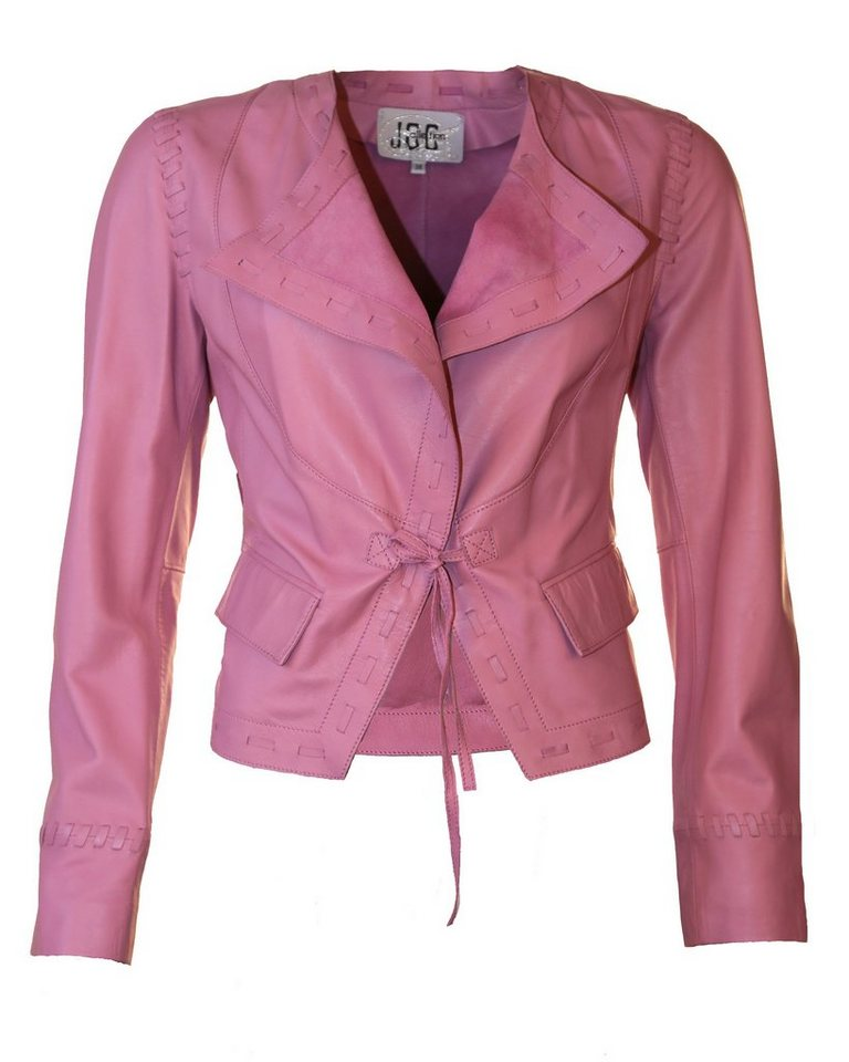 JCC Lederjacke, Damen 096326 in rose