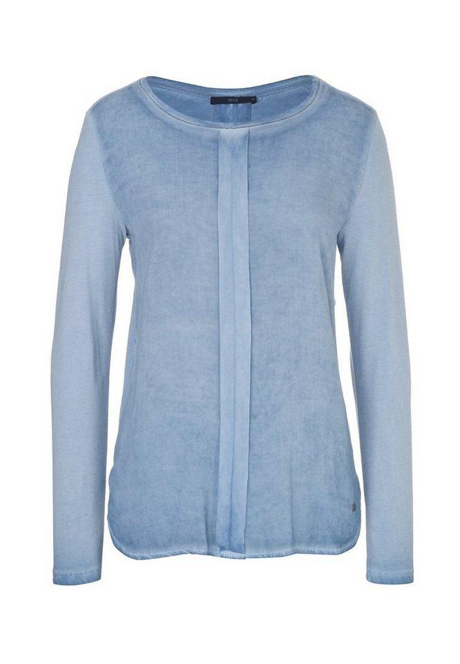 BRAX Damenshirt »CLARISSA« in BLUE SMOKE