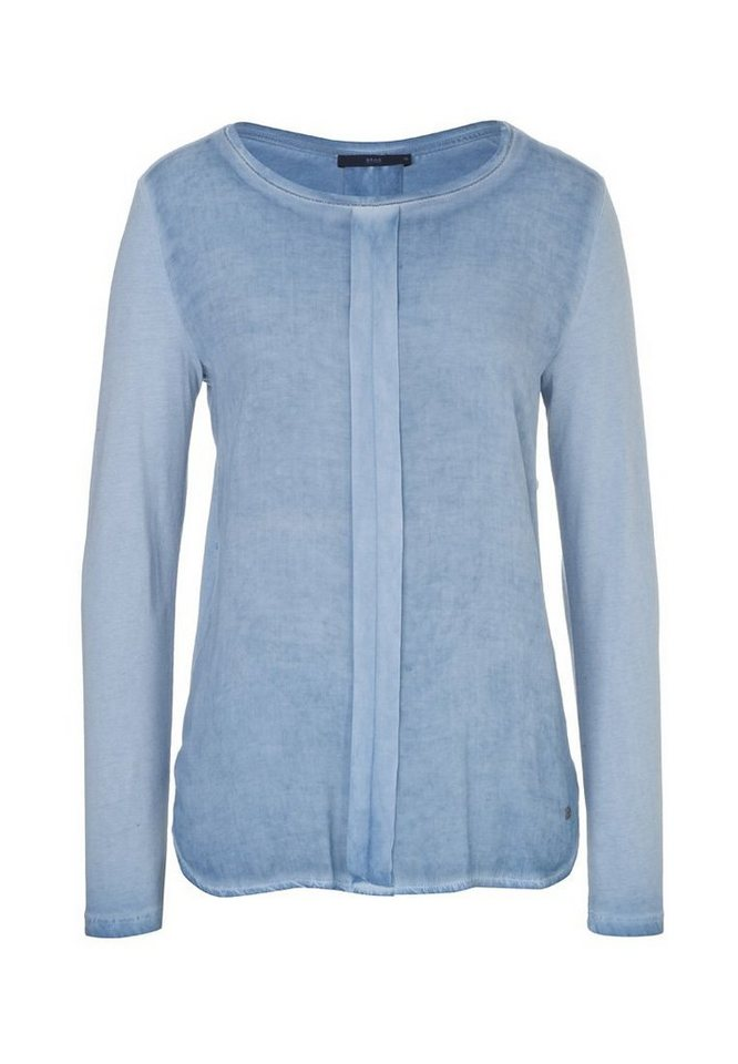 BRAX T-Shirt »CLARISSA« in BLUE SMOKE