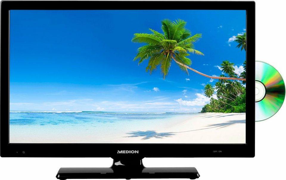 Medion® LIFE P12267 MD 21366, LED Fernseher, 55 cm (21,5 Zoll), 1080p (Full HD), Smart-TV in schwarz