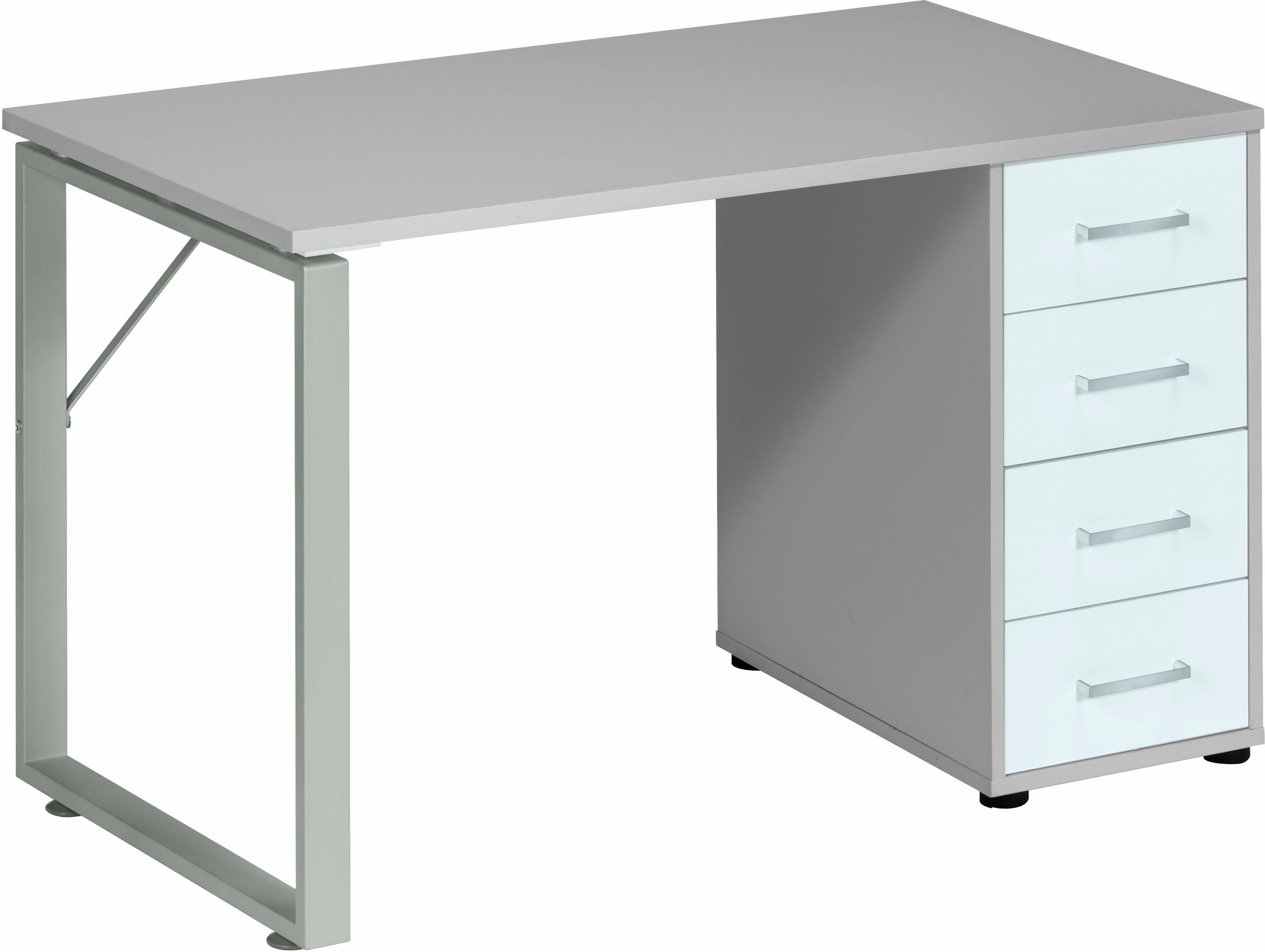Maja Möbel Schreibtisch »Magic 1544« | Büro > Bürotische > Schreibtische | Weiß | Metall - Abs - Melamin | Maja Möbel