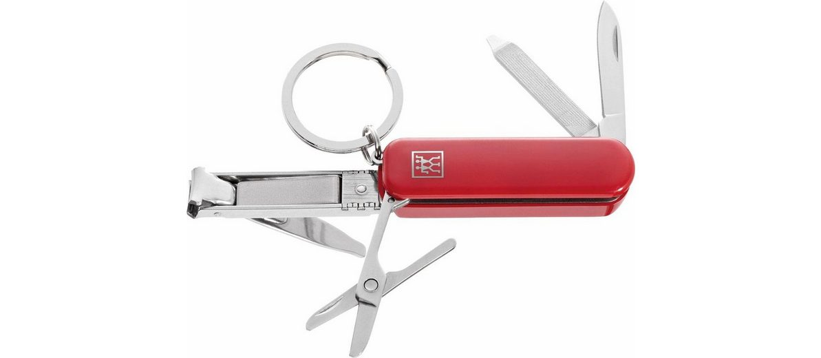Zwilling, »Multi-Tool Classic INOX«, rot, 74 mm