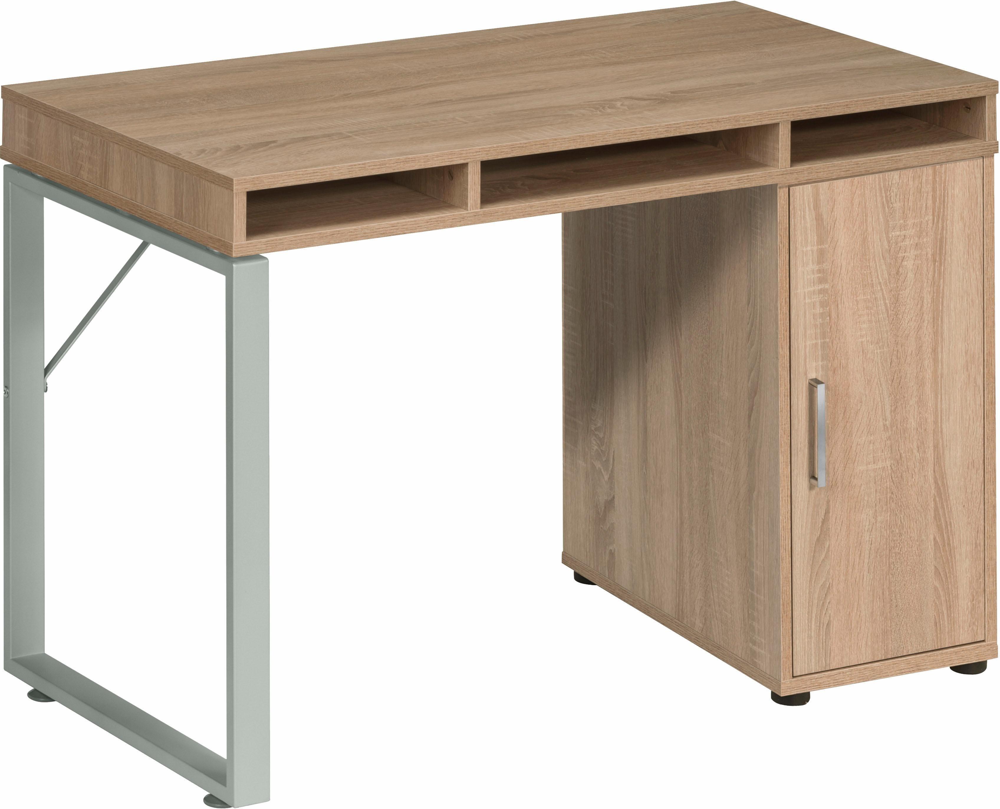 Maja Möbel Schreibtisch »Magic 1545« | Büro > Bürotische > Schreibtische | Weiß | Metall - Abs - Melamin | Maja Möbel