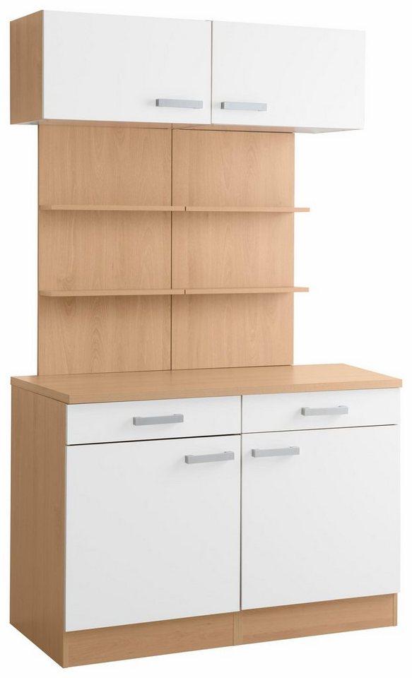 Optifit Küchenbuffet »Odense«, Breite 120 cm in weiß