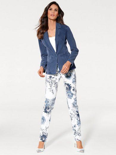 ASHLEY BROOKE by Heine Bodyform-Jeansblazer mit Struktur