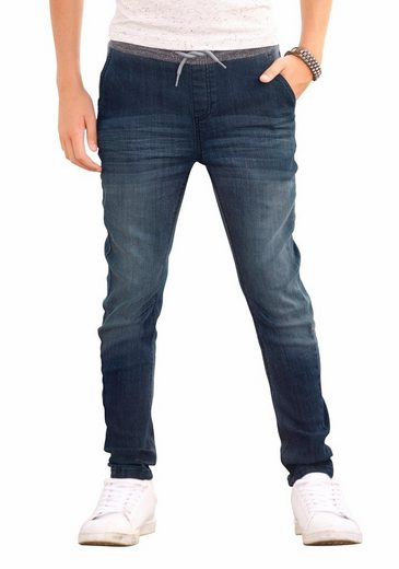 Arizona Stretch-Jeans In cooler O-Shape Form