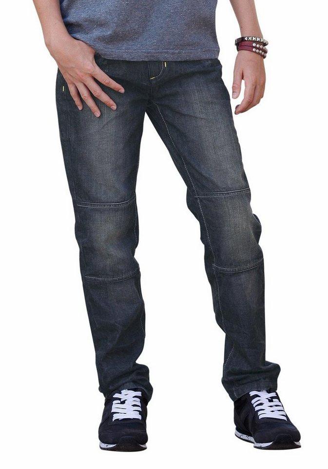 Buffalo Regular-fit-Jeans in dark-denim