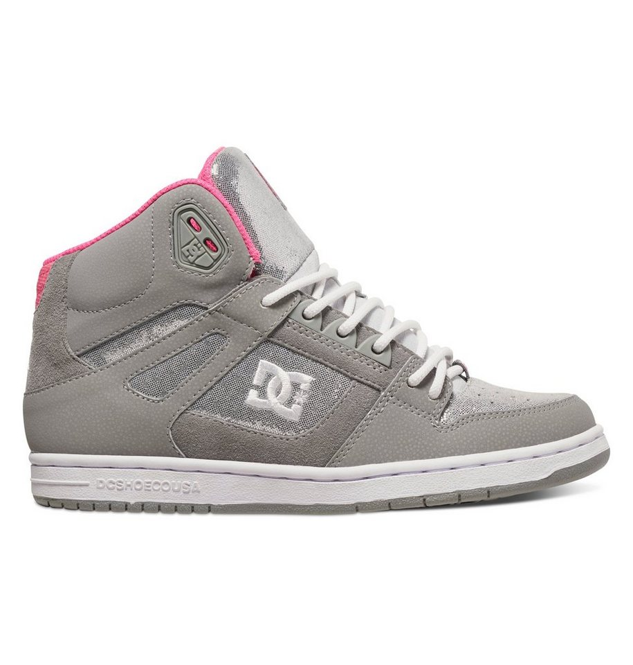 DC Shoes Schuhe »Rebound High Se« in Silver