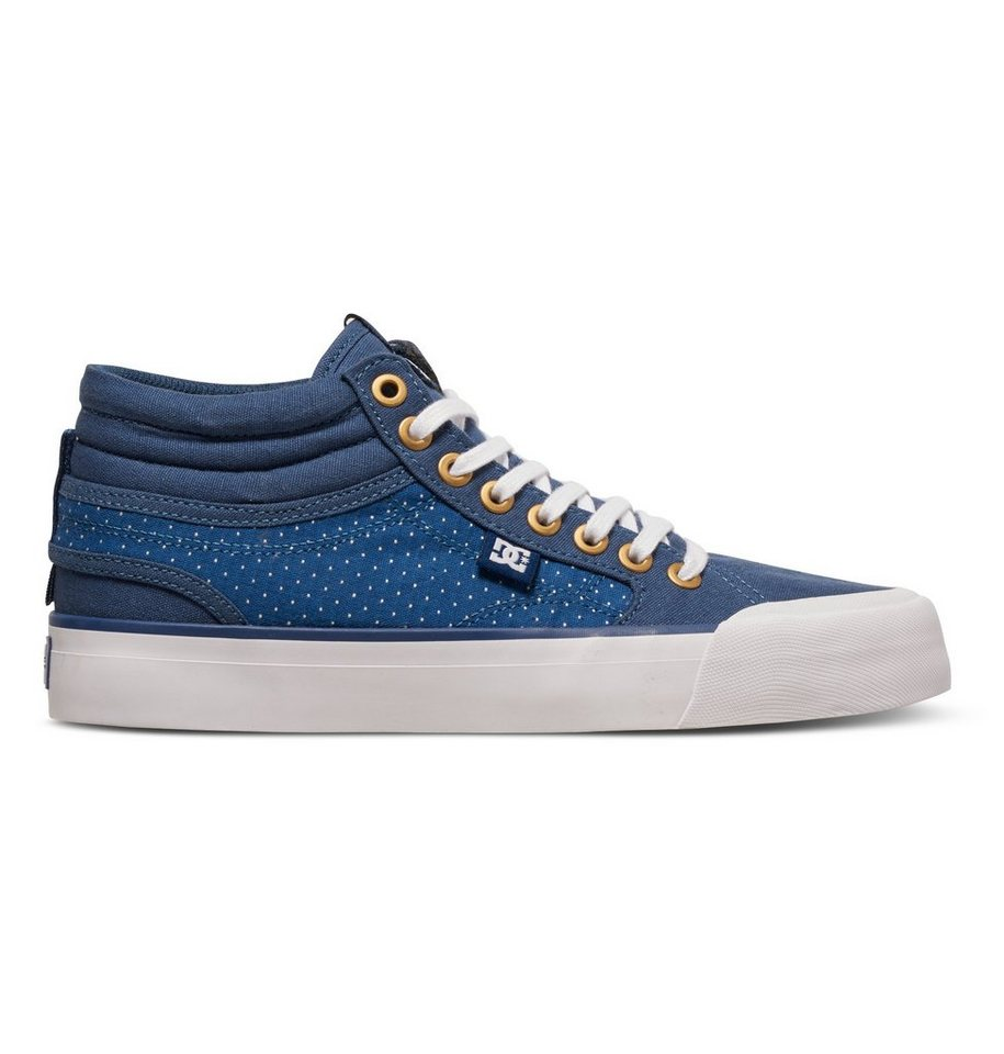DC Shoes Hi top »Evan Hi TX SE« in blue/brown/white
