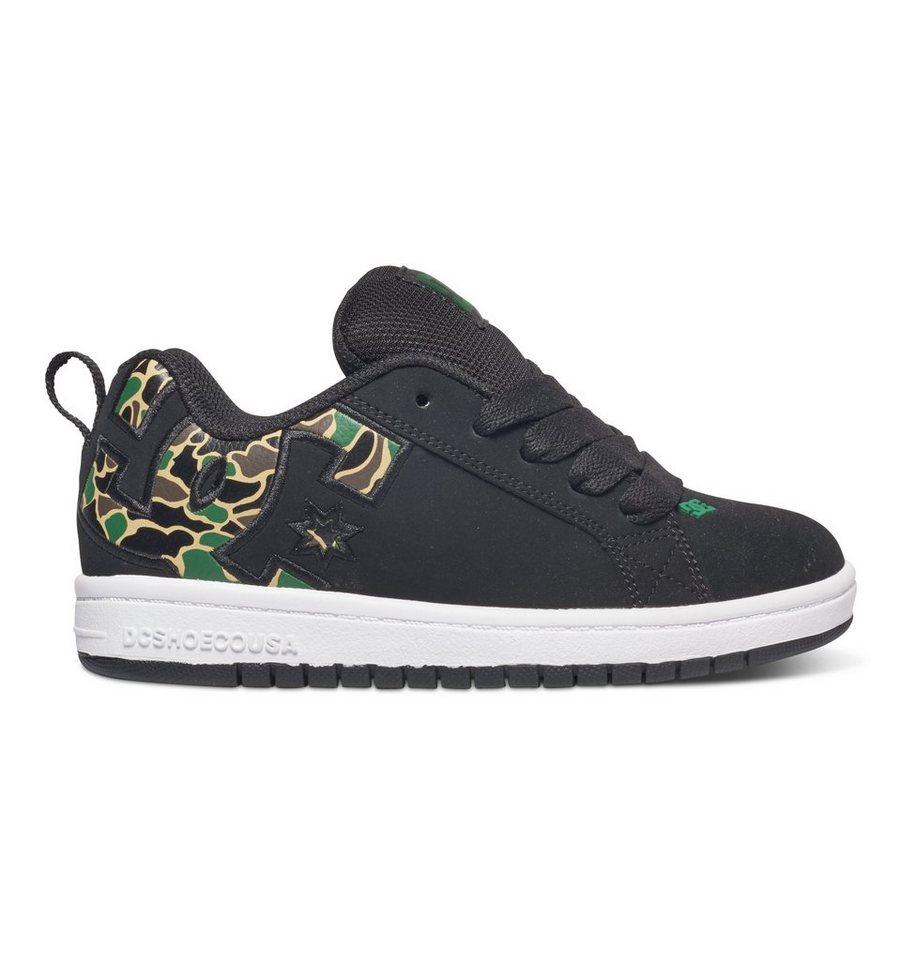 DC Shoes Low Top Schuhe »Court Graffik SE« in White/red/black