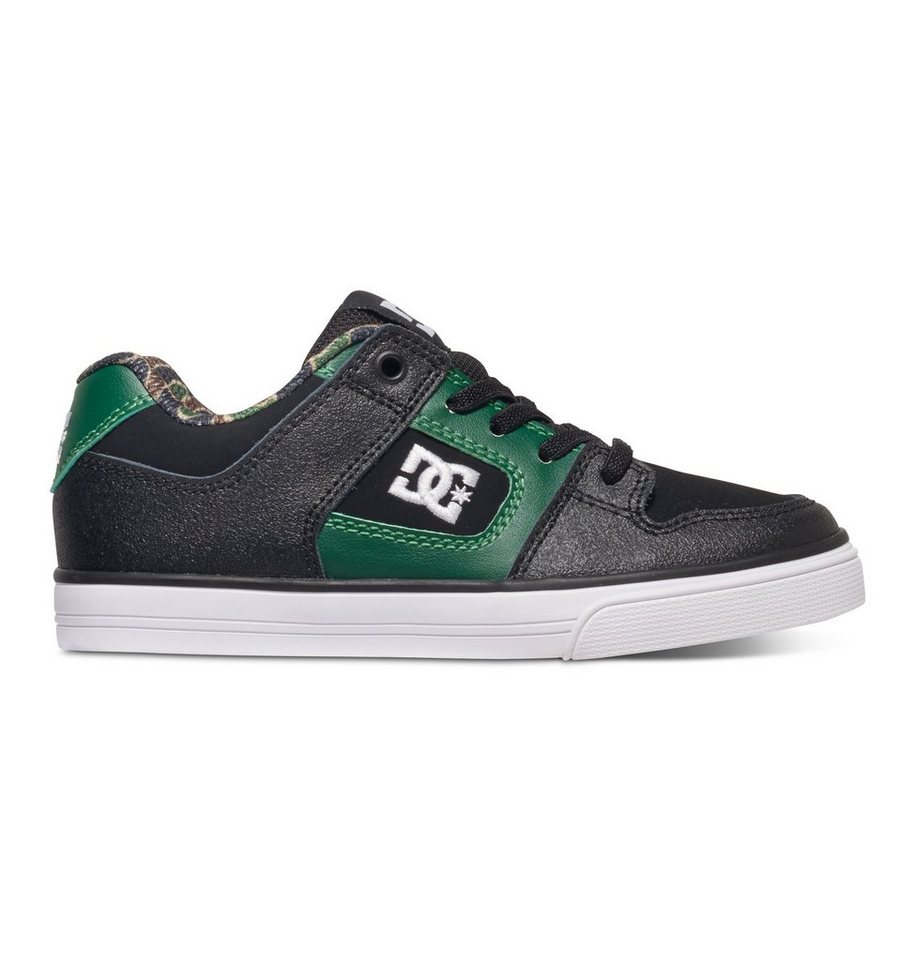 DC Shoes Slip-On Schuhe »Pure Elastic SE« in Black/green