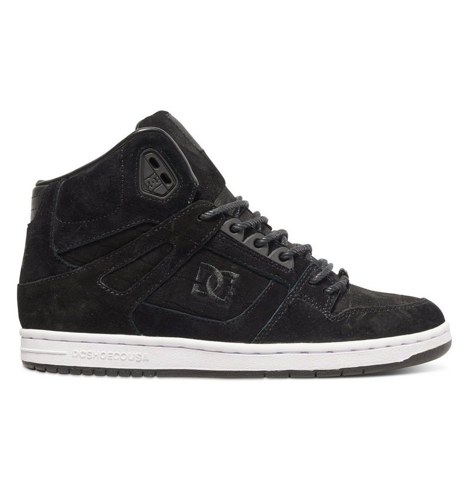 DC Shoes Hi top »Rebound XE« in Black smooth