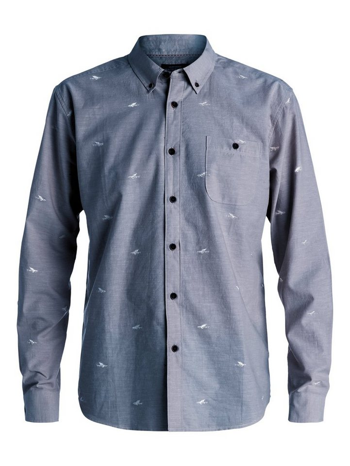 Quiksilver Langarm-Hemd »Post Haste« in Ensign blue