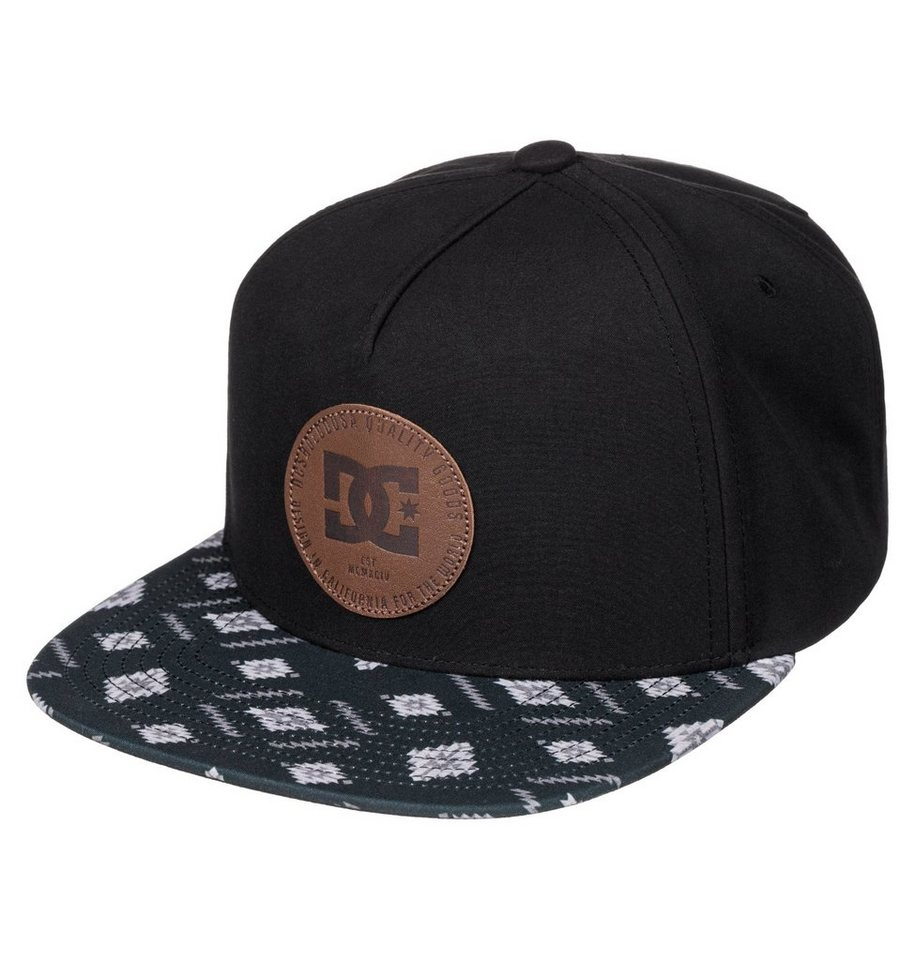 DC Shoes Snapback Cap »Swerver« in Anthracite