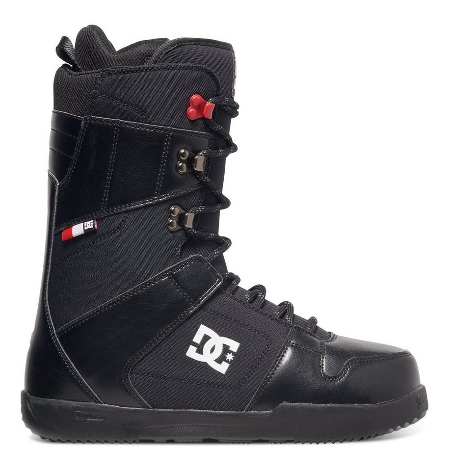 DC Shoes Snowboard Boots »Phase« in Black/red