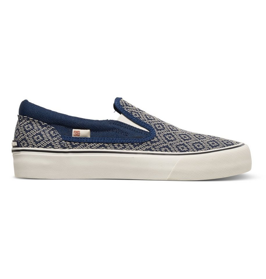 DC Shoes Slip-On »Trase Slip-On Printed« in Navy