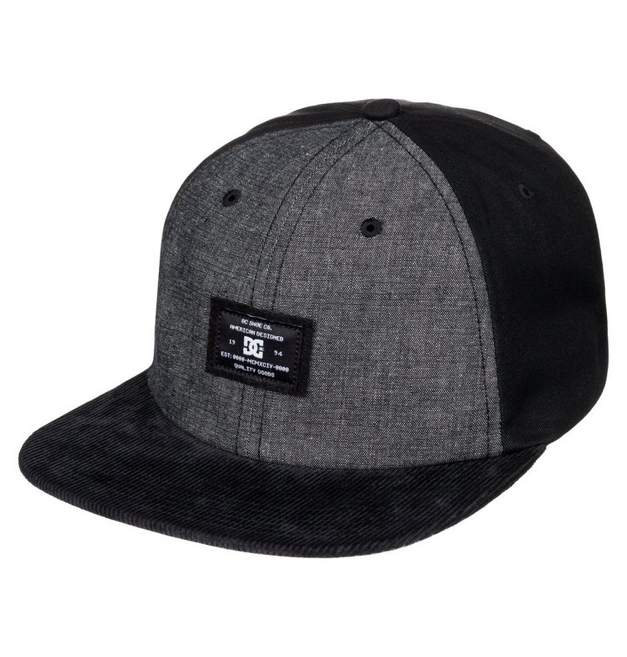DC Shoes Snapback Cap »Ruthy« in Anthracite
