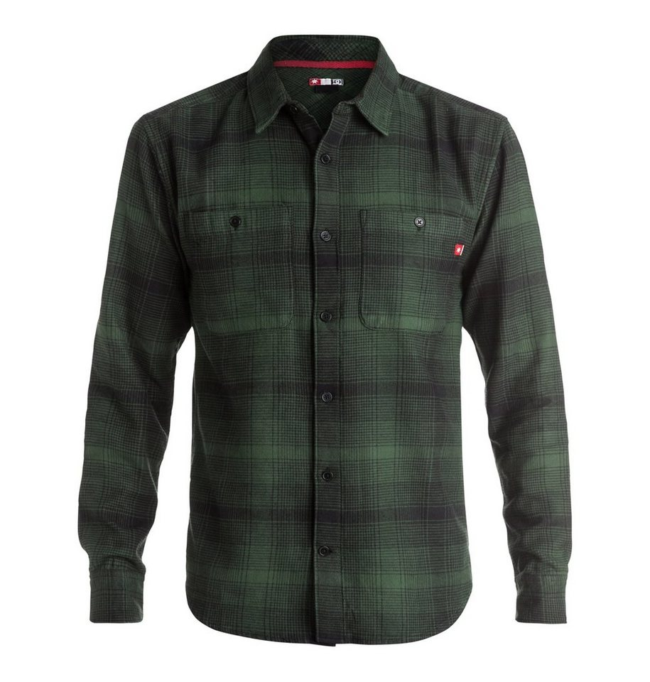 DC Shoes Langarm-Hemd »Venetian Hombre Flannel« in Forest night