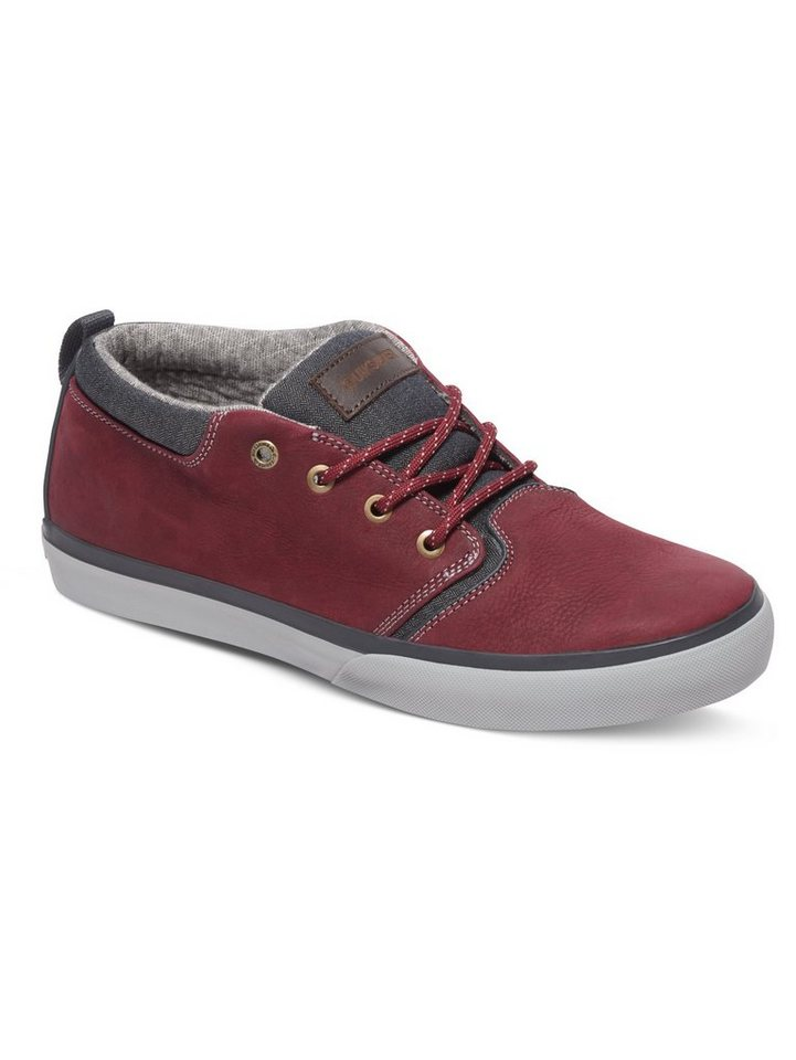 Quiksilver Mid-top »Griffin« in Red/grey/grey
