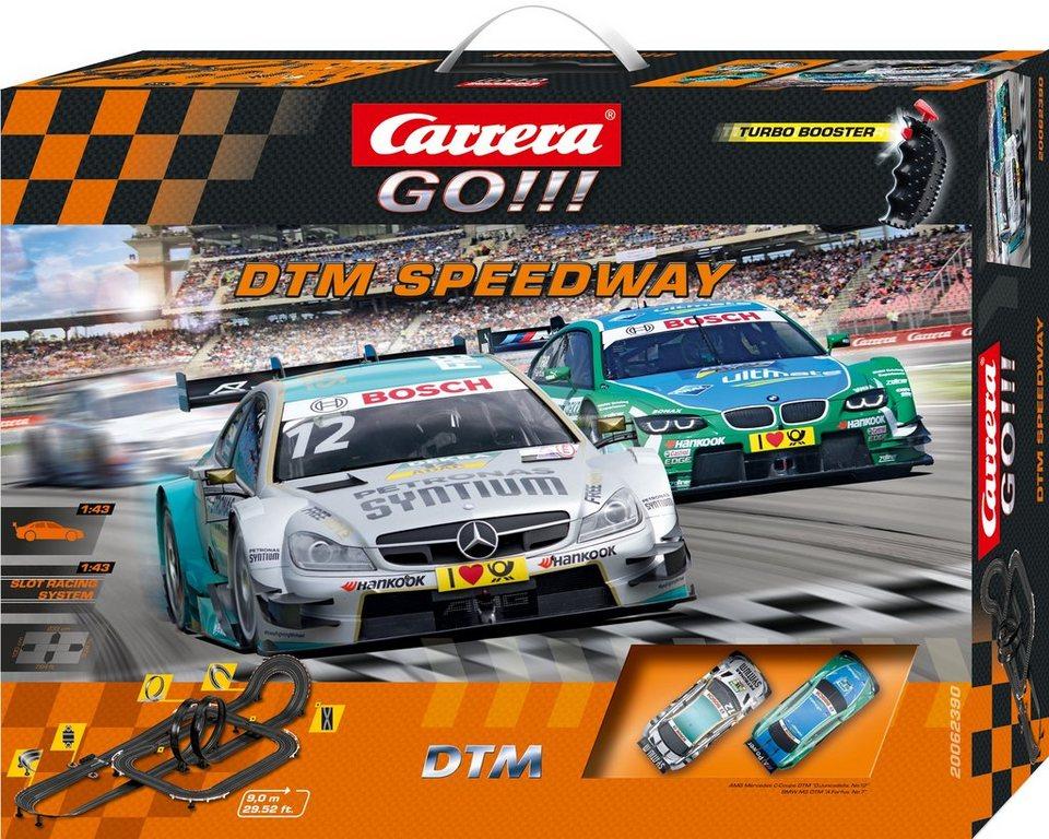 Carrera Autorennbahn, »Carrera® GO!!! DTM Speedway«