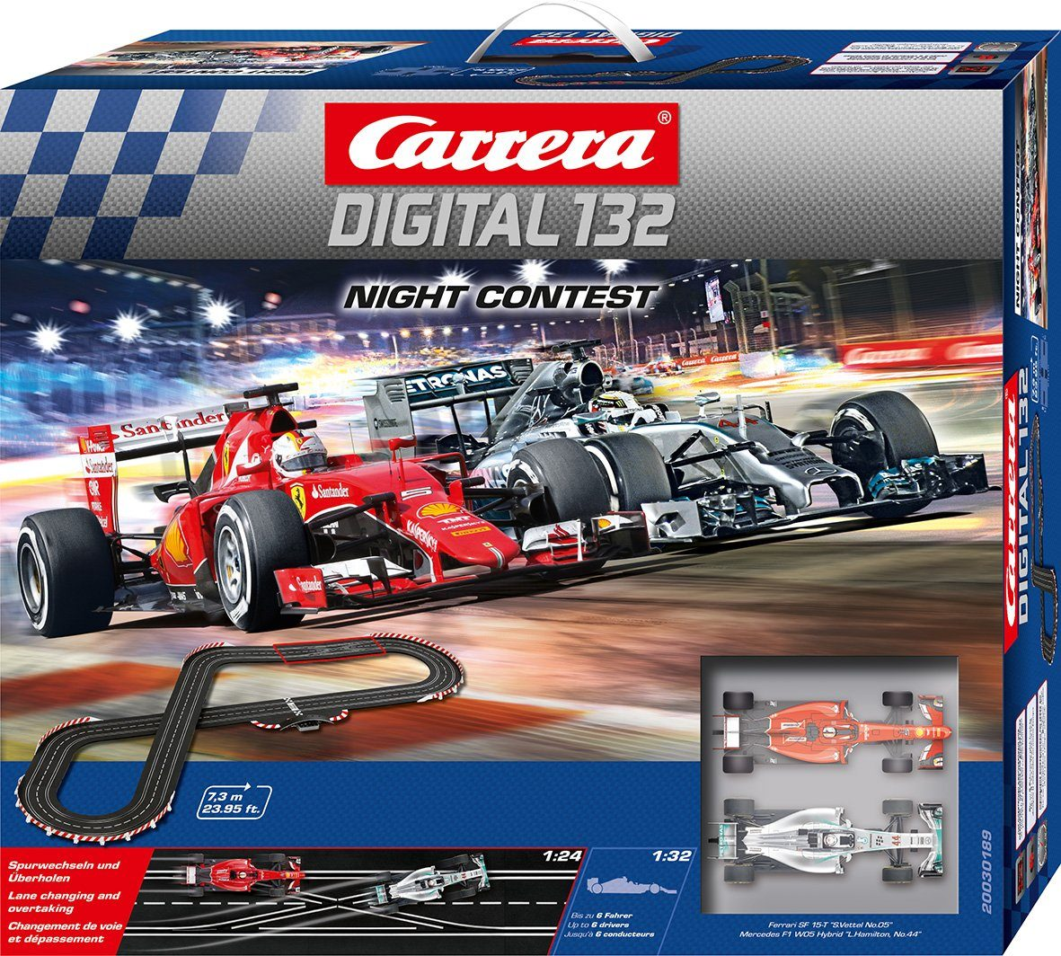 Carrera Autorennbahn, »Carrera® Digital 132 Night Contest«