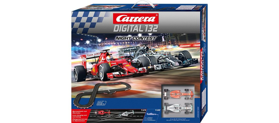 Carrera Autorennbahn, »Carrera® Digital 132 Night Contest«