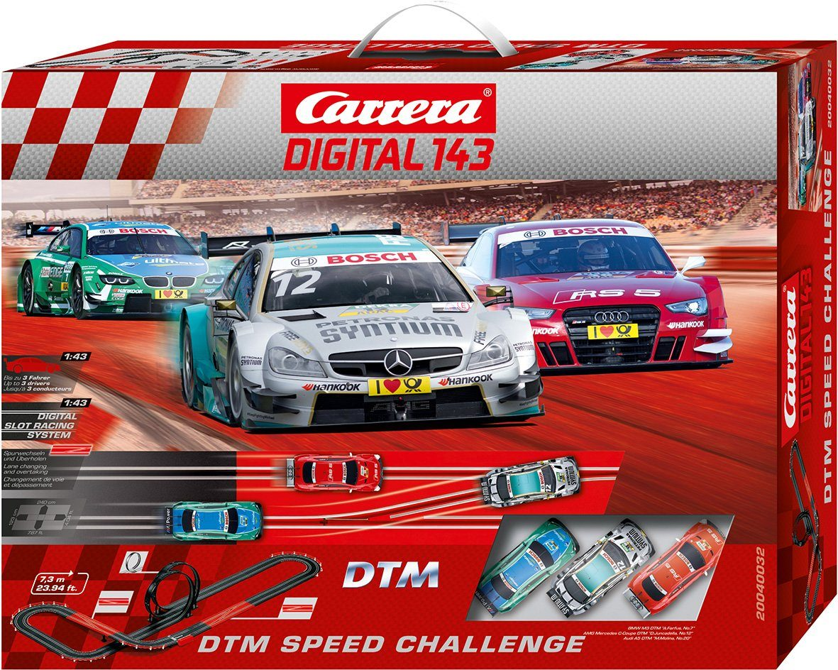 Carrera Autorennbahn, »Carrera® Digital 143 DTM Speed Challenge«