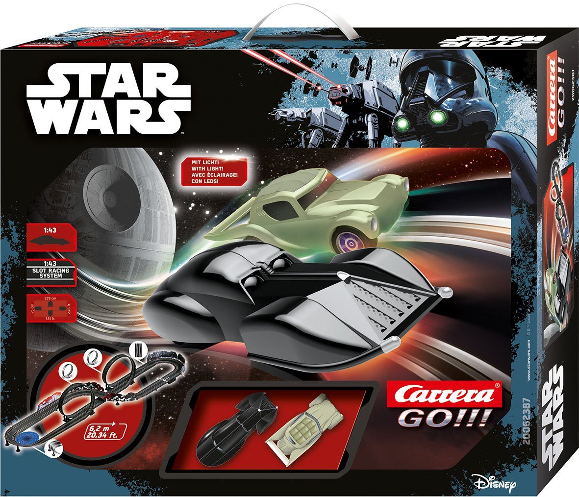 Carrera Autorennbahn, »Carrera® GO!!! Disney Star Wars«